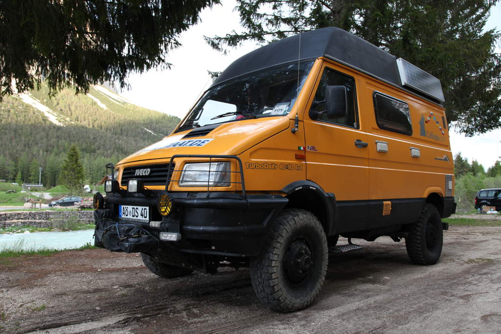 SOLD - Iveco Daily 4x4 camper | Expedition Vehicles For Sale