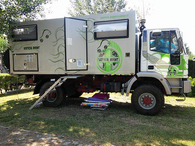 SOLD - Iveco - Eurocargo 135E18 4X4 Truck Camper - Italy