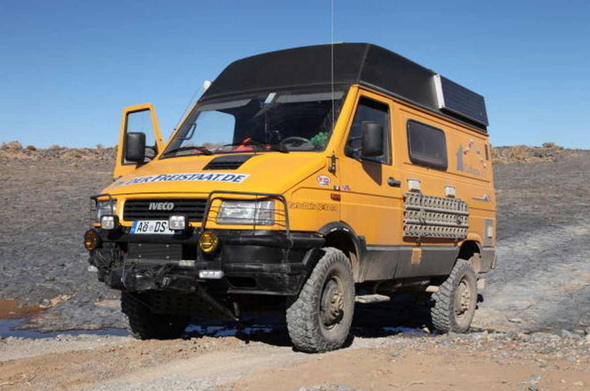 Sold Iveco Daily 40 10 4x4 Camper Germany Expedition Vehicles For Sale