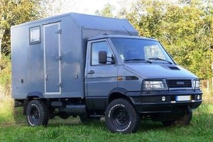 Iveco Daily 4x4 4 passengers